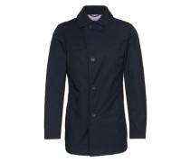 Mantel mit Klappkragen 'Ciaston' dunkelblau