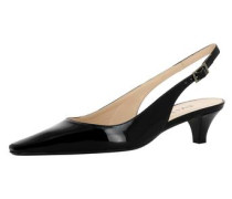Damen Sling Pumps schwarz