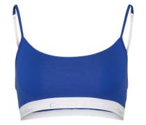 Bralette mit Logo-Bund blau