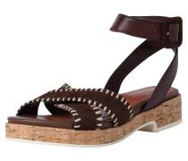 Sandale dunkelbraun