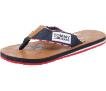 Zehentrenner Leather Footbed Beach Sandal