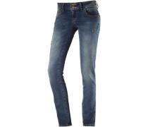 Molly Skinny Fit Jeans Damen blau