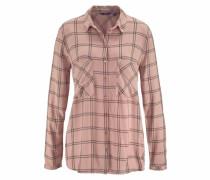 Klassische Bluse pink