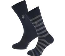 Swen 2 Paar Socken blau