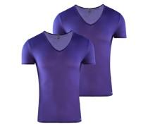 T-Shirt ' V-Neck 'Red 0965' 2-Pack '