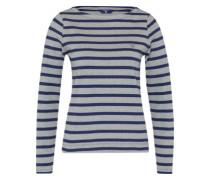 Pullover 'Breton' blau / grau