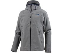 'Apex Flex' Outdoorjacke dunkelgrau