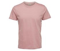 Rundhalsausschnitt- T-Shirt pink