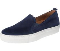 'Tania' Sneakers blau / weiß