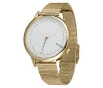 Armbanduhr 'Estelle Royale' gold / weiß