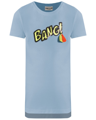 T-Shirt hellblau