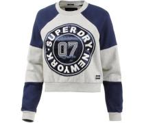 Sweatshirt navy / grau