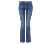 Smart Bootcut: Ausgestellte Jeans blue denim