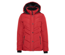 Steppjacke 'cold day' rot