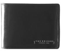 Passpartout Uomo Geldbörse Leder 13 cm schwarz