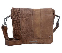 'Untamed Small' Messenger Bag Leder 28 cm rostbraun