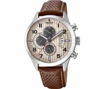 Chronograph »F20271/2« braun