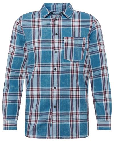 Hemd 'Laurent' blau / rot / weiß