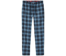 Homewear »Classic flannel pant check« blau