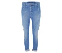 'Topsy' Antifit-Hose mit Ankle Cut blau