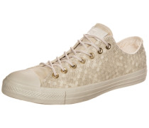 "Sneaker ""Chuck Taylor All Star Denim Woven OX"" beige / weiß"