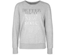 Sweatshirt Sweat Silver