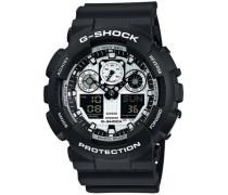 G-Shock schwarz / weiß
