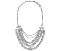 Große Halskette silber