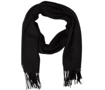 Schal Woll schwarz