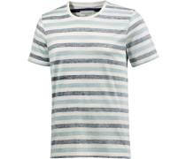 Dean T-Shirt blau / weiß