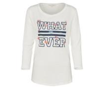 Shirt 'print tee' offwhite