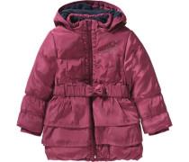 Wintermantel für Mädchen pink