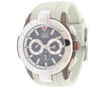Armbanduhr 'cra097E275G' beige / grau