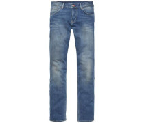 Jeans »Denton - STR Ebro Blue« blue denim
