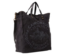 Shopper aus Canvas 35x16x40cm schwarz