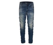 Jeans 'Staq 3D Tapered' dunkelblau