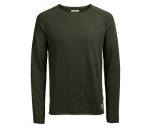 Raglan Pullover grey denim
