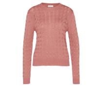 Strickpullover 'Crew' pink
