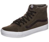 Sk8-Hi Slim Cutout Sneaker grün
