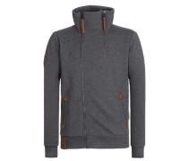 Zipped Jacket dunkelgrau