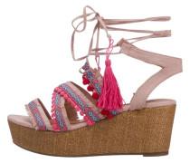 'Keta' Sandaletten hellblau / pink / rosa