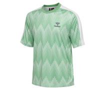 T-shirt S/S weiß / grün