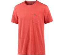 'Jacks Base' T-Shirt koralle