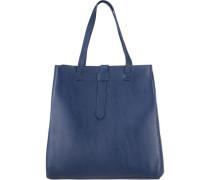 Shopper-Tasche blau
