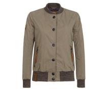 Female Jacket 'U like dirty' grün