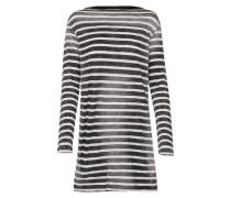 Sweatshirt 'tidezo S/t' schwarz / weiß