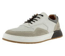 Sneaker grau / beige