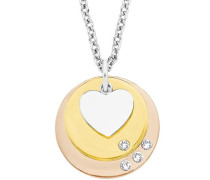 Herzkette gold / rosegold / silber