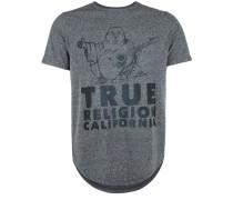 T-Shirt 'buddha True' schwarz