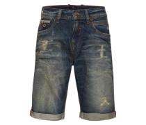 Jeansshort 'lance' dunkelblau